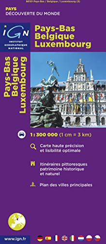 86101 Pays-Bas/Belgique/Luxembourg 1/300.000