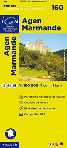 Top100160 Agen/Marmande 1/100.000