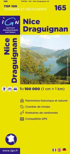 Top100165 Nice/Draguignan 1/100.000