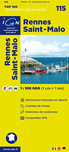 Top100115 Rennes/St-Malo  1/100.000