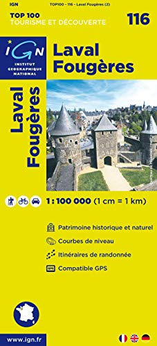 Top100116 Laval/Fougeres 1/100.000
