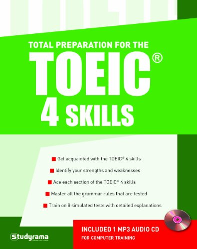 Total Preparation for the TOEIC 4 Skills (1CD audio MP3)