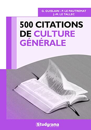 500 citations de culture générale