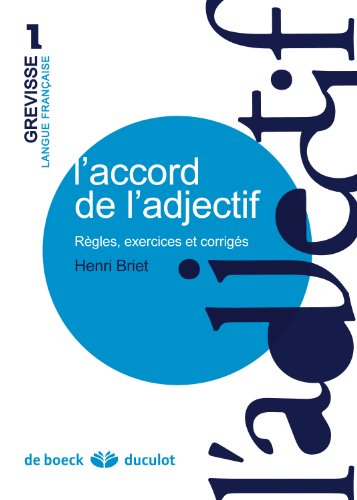 L'accord de l'adjectif