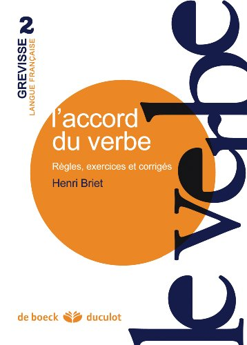 L'accord du verbe