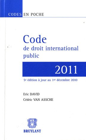 Code de droit international public