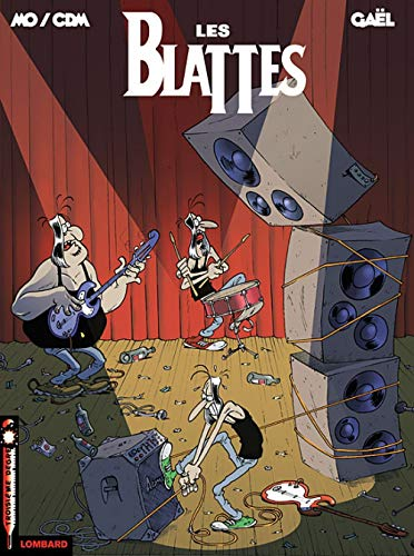 Les Blattes, Tome 1 : On Tour