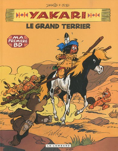 Yakari, Tome 10 : Le grand terrier - Mini BD