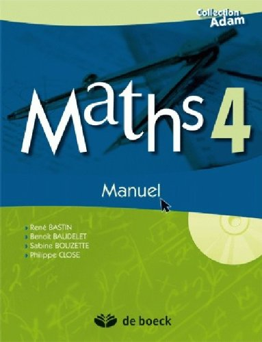 """maths 4eme ; manuel + cd-rom"""
