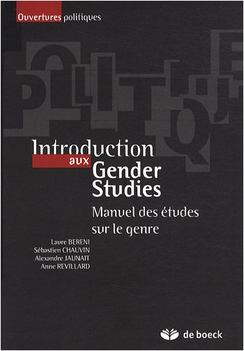 Introduction aux Gender Studies