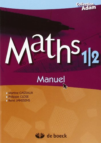 Maths 1/2 / Manuel de Reference