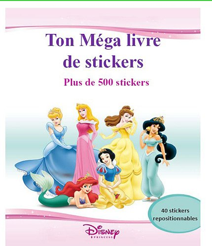 Mon album de stickers géant Disney Princess