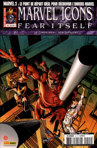 Fear Itself, Tome 15 : Marvel icons v2