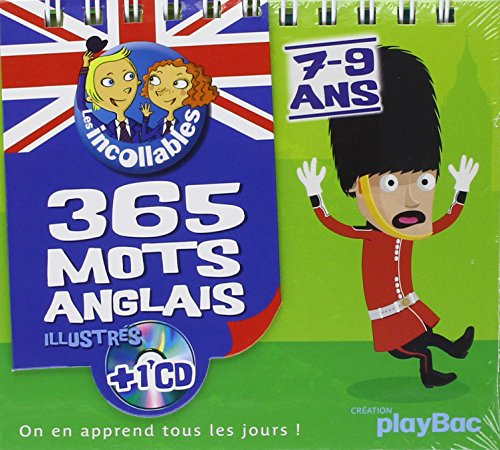 365 mots anglais illustrés (1CD audio)