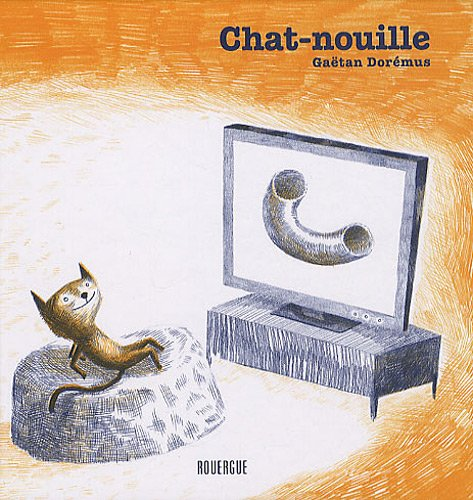 Chat-nouille