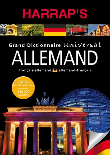 Grand dictionnaire universal allemand : Français-allemand, allemand-français