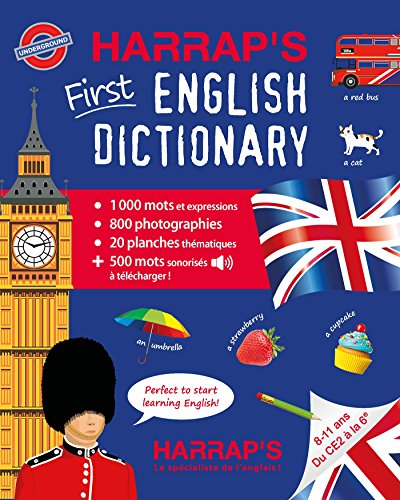 Harrap's first English dictionary / rédaction, Gaëlle Amiot-Cadey.