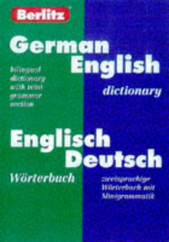 Berlitz German-English Dictionary/Worterbuch Englisch-Deutsch, Berlitz Publishing