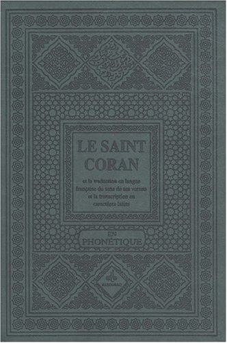 Coran Phonétique couv. Luxe