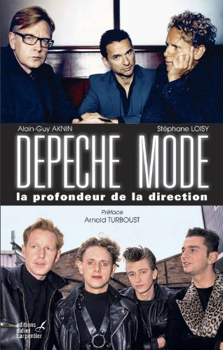 Book's Cover ofDepeche Mode, la profondeur de la direction