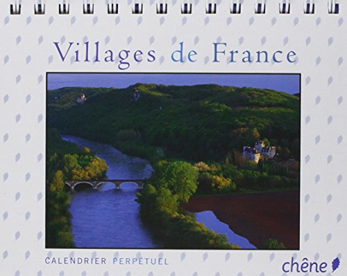 Calendrier perpétuel Villages de France