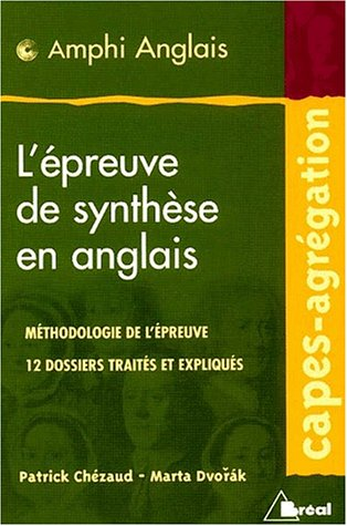Epreuve synthese anglais capes agreg