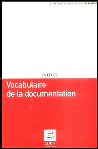 Vocabulaire de la documentation