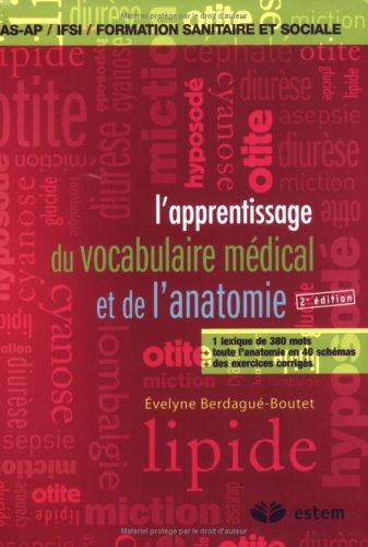L'apprentissage du vocabulaire médical et de l'anatomie