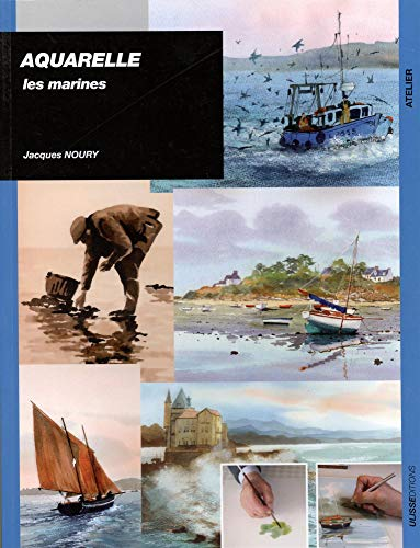 Aquarelle : Les marines