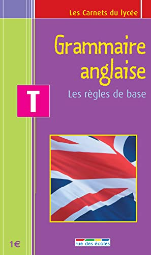 Grammaire anglaise Tle