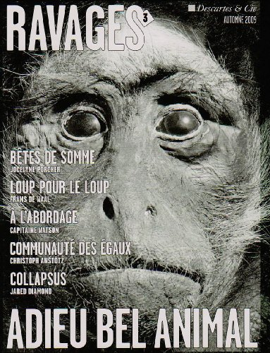 Adieu Bel Animal Ravages Numero 3