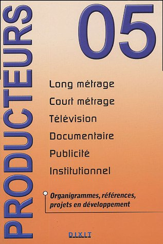 Producteurs : Long métrage, Court métrage, Television, Documentaire, Publicité, Institutionnel