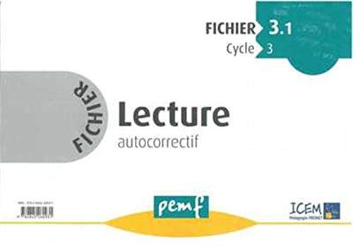 Fichier Lecture Cycle 3 : Série 1