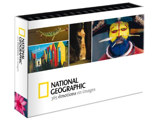 Calendrier Perpetuel National Geographic 365 Emotions en Images