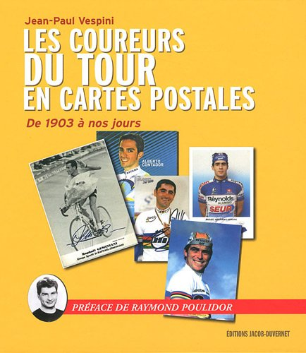 Les coureurs du tour de France en cartes postales