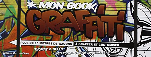 Mon book graffiti : Plus de 15 mètres de wagons à graffer et customiser
