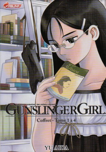 Gunslinger Girl, Tome 1 à 4 : Coffret