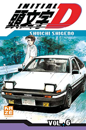 Initial D, Tome 6