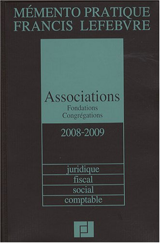 Associations, fondations, congrégations