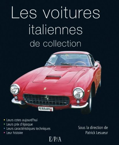 Voitures italiennes de collection