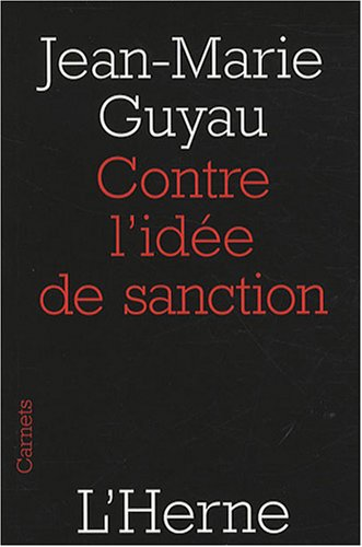 Contre l'idée de sanction