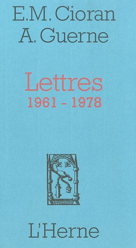 Lettres (1961-1978)