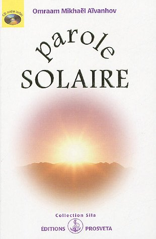 Parole solaire (+1CD audio)