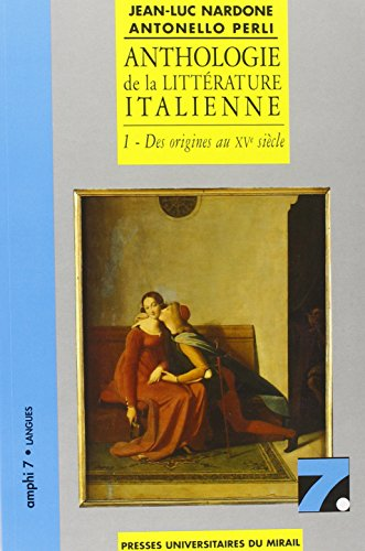 Anthologie de la littérature italienne