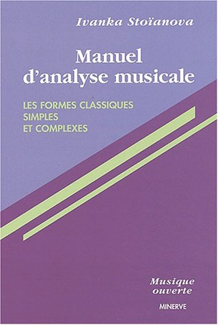 Manuel d'analyse musicale