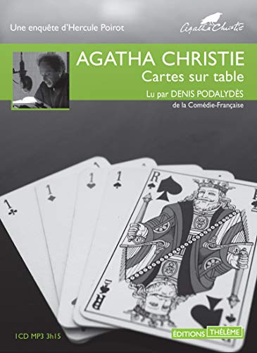 Cartes sur table [enregistrement sonore] / Agatha Christie.