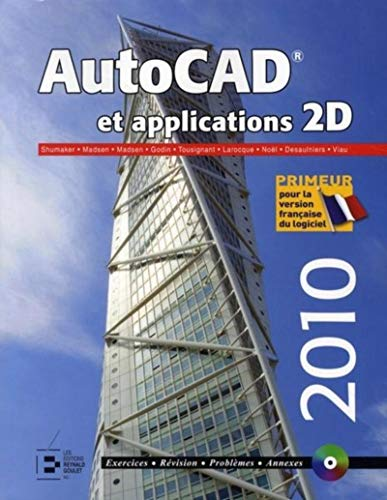 Autocad et applications 2D (1Cédérom)