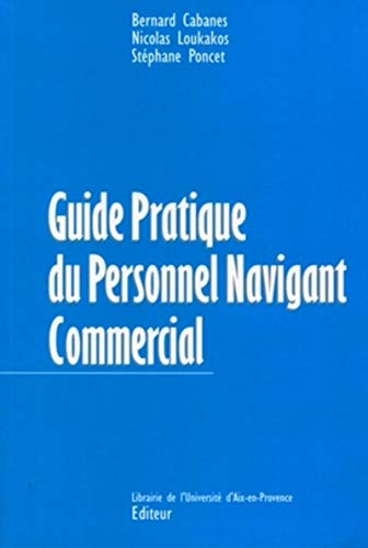 Guide pratique du personnel navigant commercial