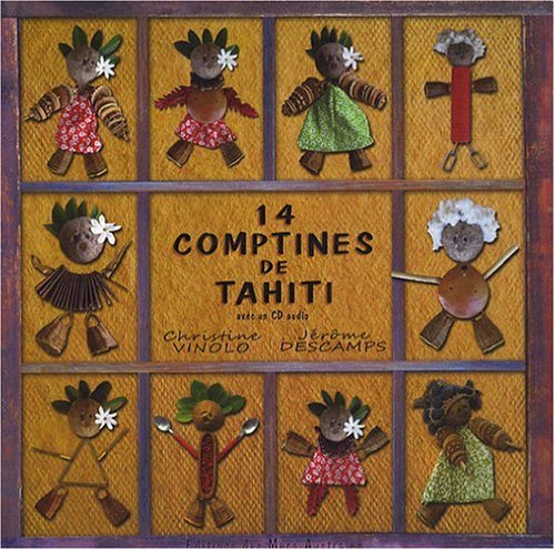 14 comptine de Tahiti (1CD audio)