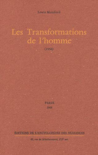 Les Transformations de l'homme : (1956)